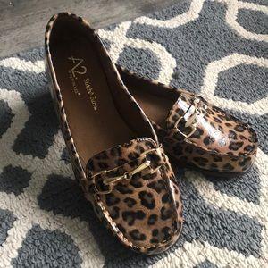 Cheetah slip on, never worn
